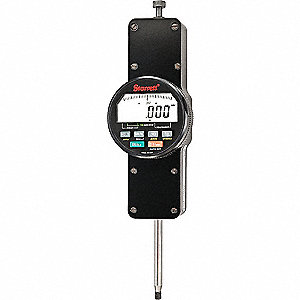 "Electronic Digital Indicator, 2""/50mm Range, 0.0001""/0.002mm Resolution, 0.0001""/0.002mm Accuracy"