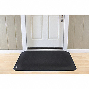 "ADA Compliant Ramp,Matte,Black,81"" H"