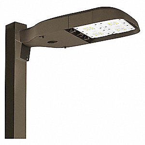 115 Watt LED Area Light, 12,500 Lumens, 5000K Color Temp., 100,000 hr. Fixture Rated Life