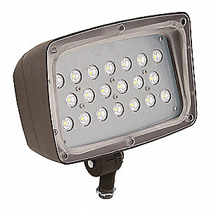 4900 Lumens General Purpose Floodlight Dark Bronze LED Replacement For 175W HPS/MH  sc 1 st  Grainger & HUBBELL LIGHTING - OUTDOOR Lighting - Grainger Industrial Supply