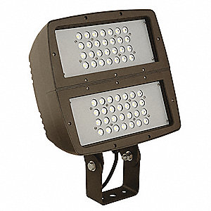 19,000 Lumens General Purpose Floodlight, Dark Bronze, LED Replacement For 750W HPS/MH