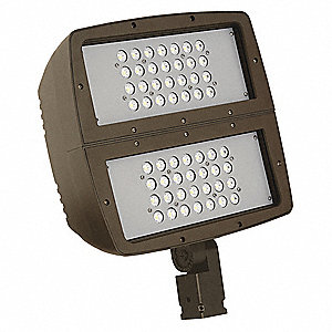 20,000 Lumens General Purpose Floodlight, Dark Bronze, LED Replacement For 750W HPS/MH