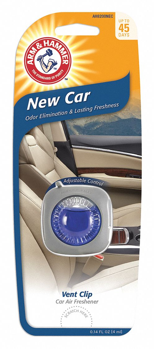 New Car Scented Air Freshener Plug, Blue, 1 EA