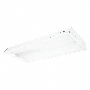 Recessed Troffer, LED Replacement For 4 Lamp LFL, 3000K, Lumens 4100, Fixture Rated Life 60,000 hr.