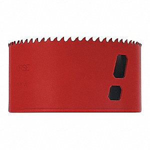 "4-1/4""-Dia. Hole Saw for Metal, 1-15/16"" Max. Cutting Depth, 5/6 Teeth per Inch"