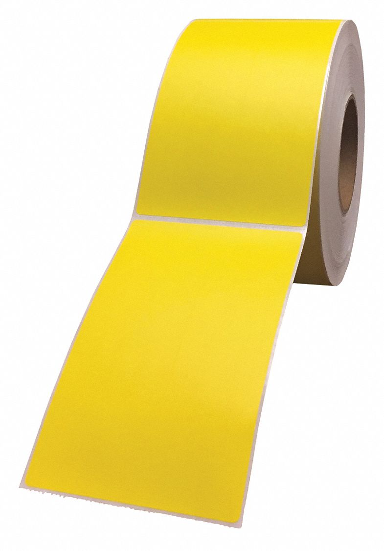 Colored Thermal Transfer Label Rolls - Ribbon Required