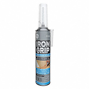 Clear Sealant, Silicone, 7.4 oz.
