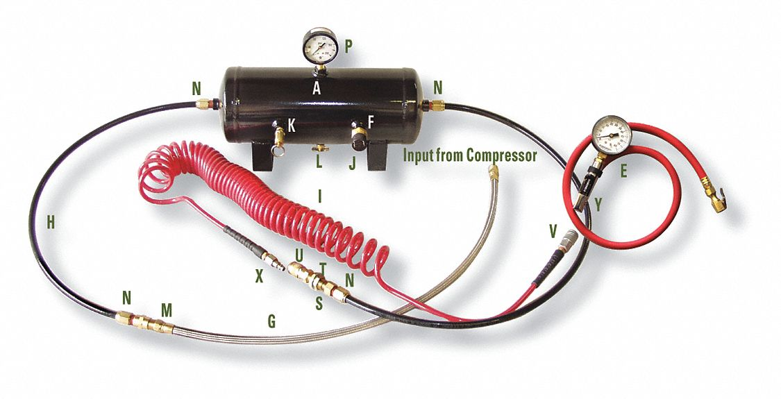Deluxe Compressor Accessory Package