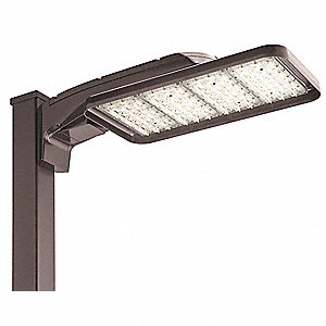 "LED Area Luminaire,248W,36674 lm,8"" H"