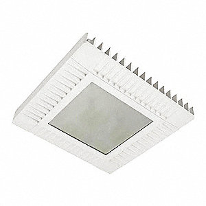 "16"" x 16"" x 2-1/2"" LED Canopy Light with 9,938 Lumens"