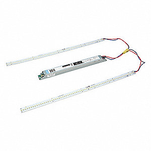 LED Troffer Retrofit Kit,120 to 277V,43W