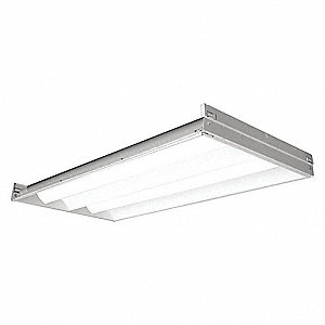 Recessed Troffer, LED Replacement For 2 Lamp LFL, 3500K, Lumens 4100, Fixture Rated Life 60,000 hr.