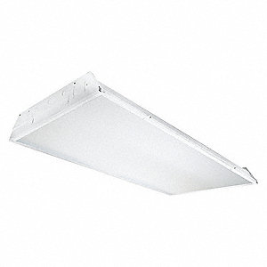 Recessed Troffer, LED Replacement For 4 Lamp LFL, 4100K, Lumens 4900, Fixture Rated Life 50,000 hr.