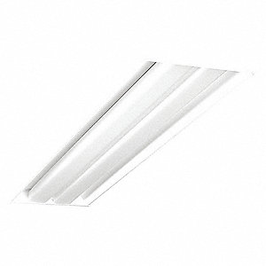 Recessed Troffer, LED Replacement For 2 Lamp LFL, 4100K, Lumens 4900, Fixture Rated Life 60,000 hr.