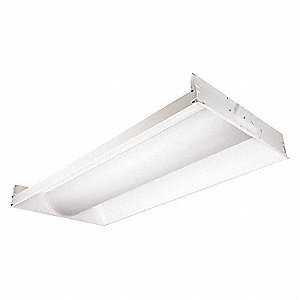 LED Direct/Indirect Troffer,39W,4600 lm