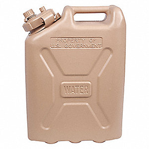 Water Container,Plastic,5 gal.