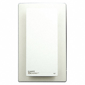 Low Voltage Thermostat,Hardwired,White