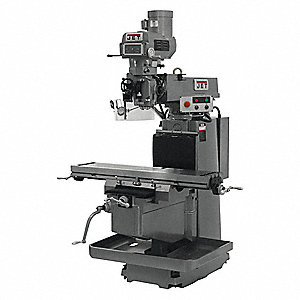 "Vertical Milling Machine,4.125"" Quill"