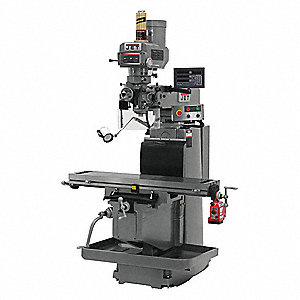 "Vertical Milling Machine,4-1/8"" Quill"