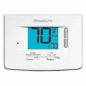 Low Voltage Thermostat,18 to 30VAC