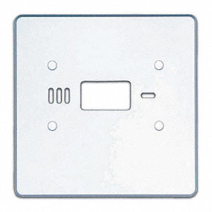 Wall Mount Universal Wall Plate, For Use With: Braeburn® Thermostats
