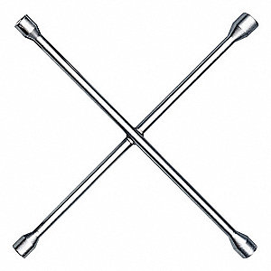 "Lug Wrench,Steel,4 Way Type,20"" L"