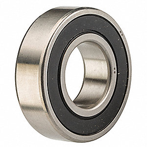Radial Ball Bearing, 15mm Bore Dia., 32mm Outside Dia.