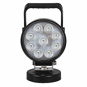 "Work Light,3"" D,LED,5-13/64"" W,8-29/32""H"