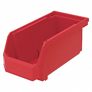 Hang and Stack Bin,20 lb. Load Capacity