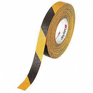 Striped Black/Yellow Anti-Slip Tape, 1