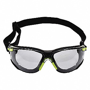 Solus Anti-Fog Safety Glasses, Indoor/Outdoor Gray Lens Color