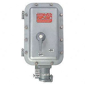 Hubbell Killark Receptacle With Disconnect Switch 600vac
