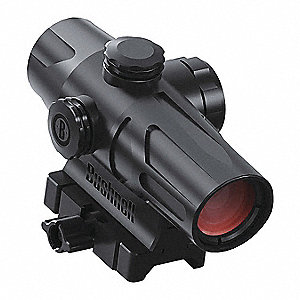 Rifle Scope, 1x Magnification, 100mm Objective Lens, 2 MOA Dot Reticle