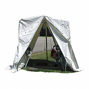 "Welding Space Tent,7 ft. 3"" H x 6 ft. W"