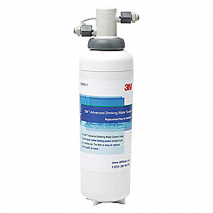 "3/8"" NPT Polypropylene Water Filter System, 0.75 gpm, 125 psi"