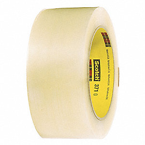 Polypropylene Packaging Tape, Hot Melt Resin Adhesive, 1.80 mil Thick, 48mm X 100m