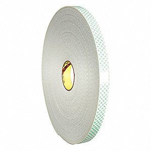 55m 6.60 mil Polypropylene Filament Tape, Clear, 36 PK