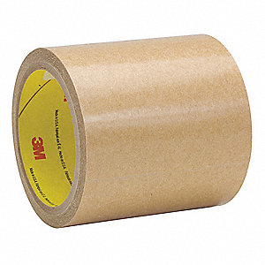 38mm X 55m Adhesive Transfer Tape,  Kraft Paper Liner, 2.00 mil Thick, 24 PK