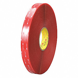 Double Coated Tape,Foam,Off White,PK12