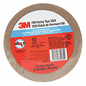 Acrylic Foam Double Sided VHB Foam Tape, Acrylic Adhesive, 45.00 mil Thick, 19mm X 33m, Gray