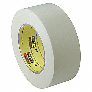 "UPVC Lithographers Tape, Rubber Adhesive, 2.40 mil Thick, 1"" X 72 yd., Red, 36 PK"