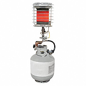 Portable Gas Heaters - Propane Heaters - Grainger Industrial Supply