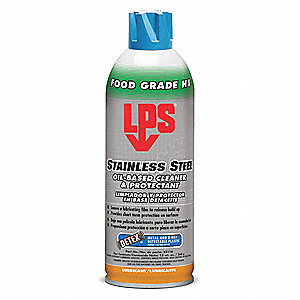 Metal Cleaner and Protectant, 13 oz. Aerosol Can, mild Liquid, Ready to Use, 1 EA