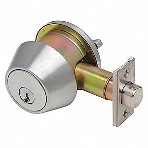 Heavy-Duty DB2000-Series Deadbolt Locks, Single SFIC-Cylinder