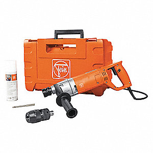 Electric Drill, 120VAC, 0 to 520/0 to 1600 No Load RPM
