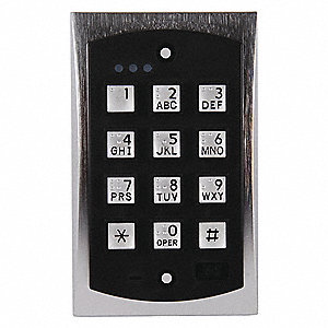 Access Control Keypad, For Use With Access Control Applications