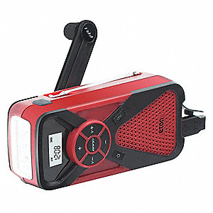 Table Top Weather Radio, Red, AM/FM, NOAA