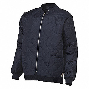 Freezer Jacket,Navy,3XL Size,Mens