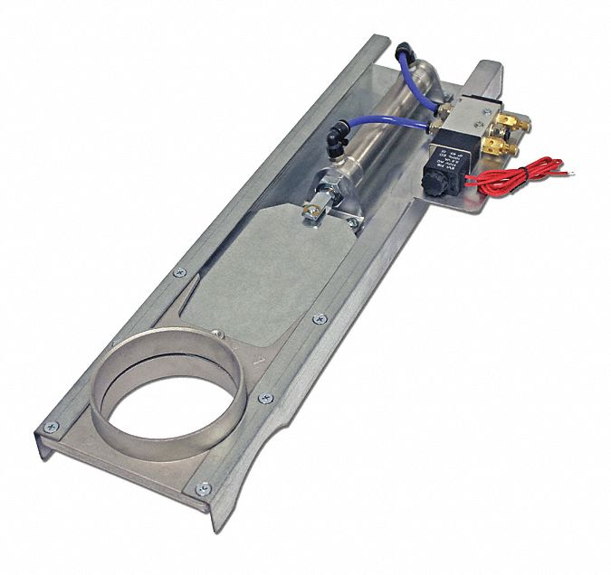 8 Duct Sz 13-1//2 L Manual Blastgate