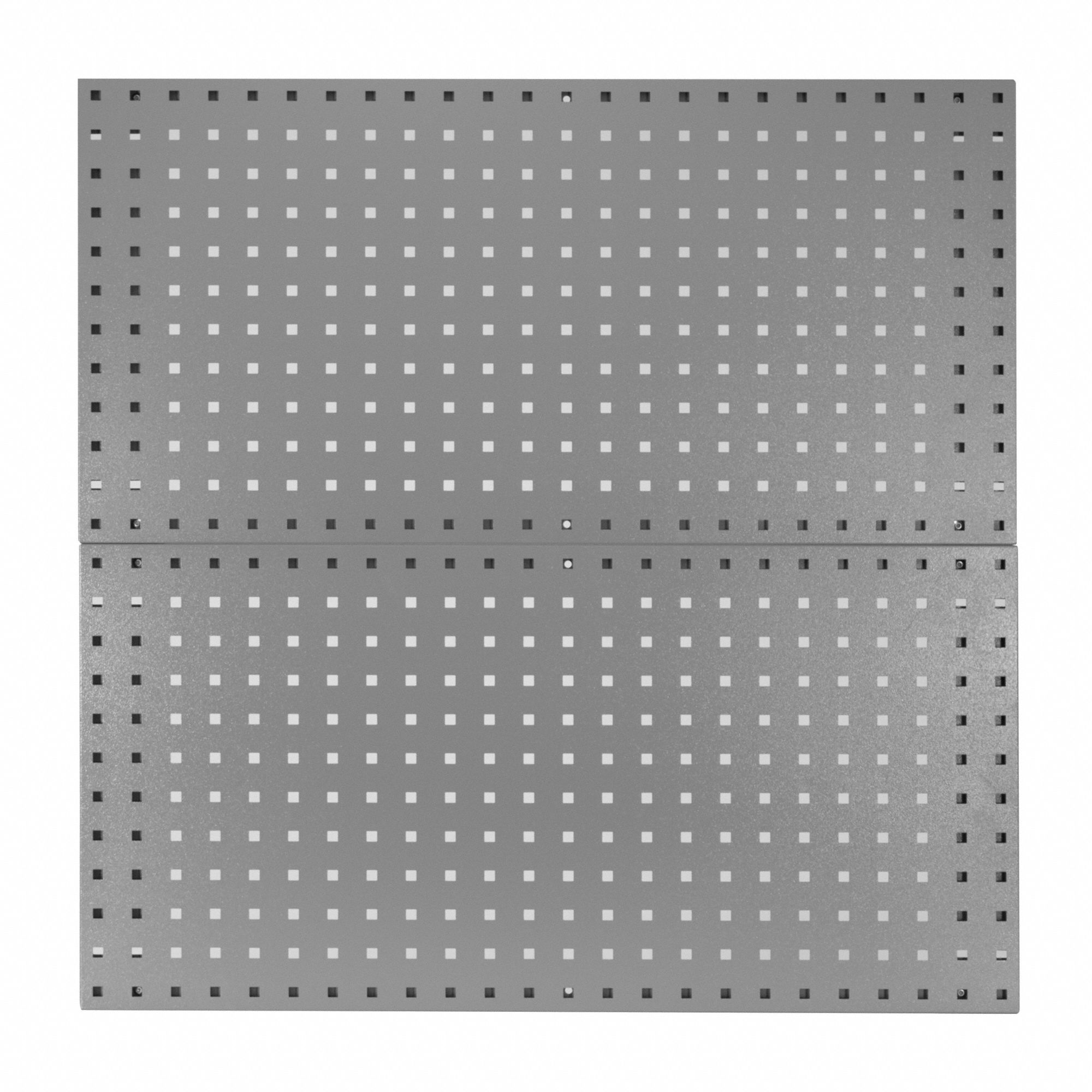 "Pegbrd Panel,36"",Squr Hole,Gray,PR"